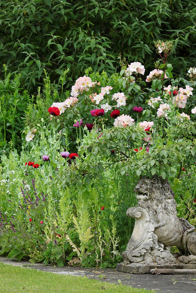 マルバリーズ・ガーデンズの花壇