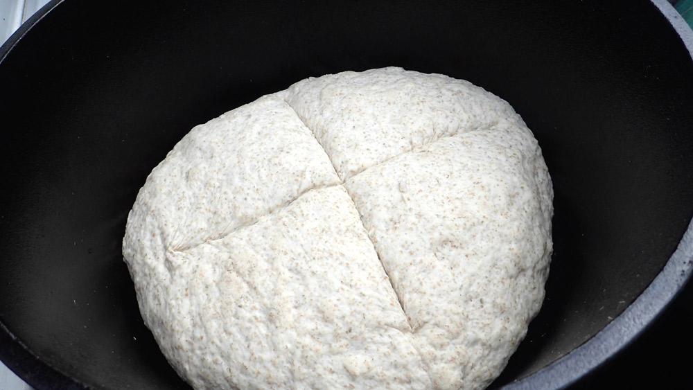 ライ麦パンの生地