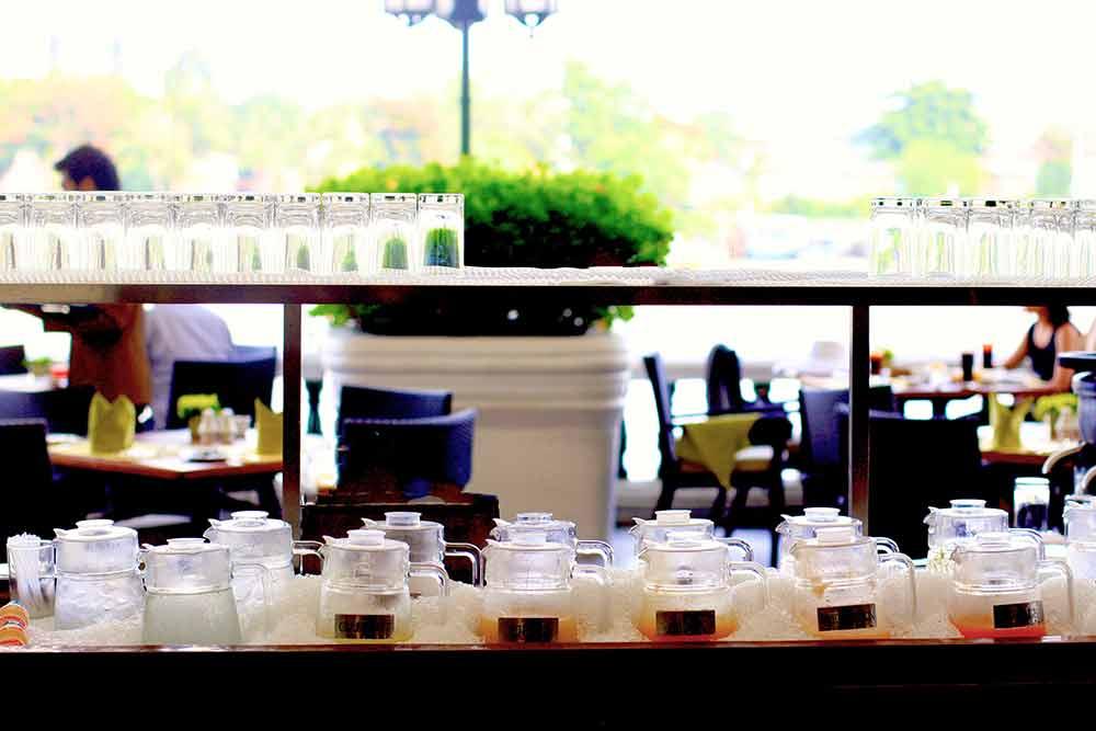 タイ・バンコクのマンダリンオリエンタルホテル