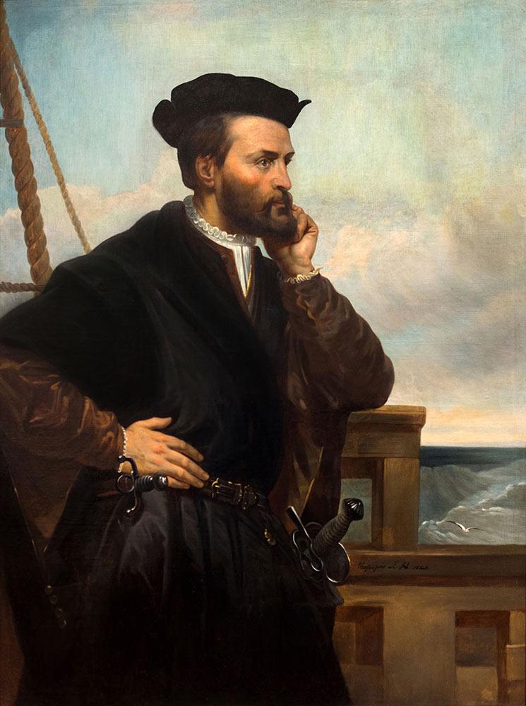 'ジャック・カルティエ肖像画'