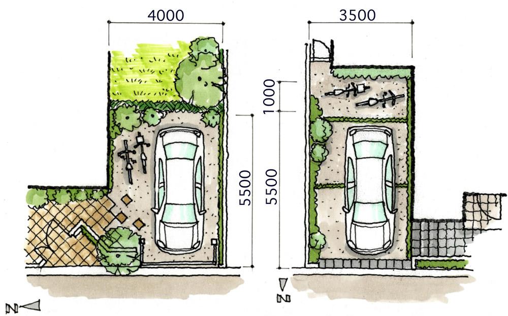 駐車スペース+サイクルポート一体型のメリットとデメリットは・・・