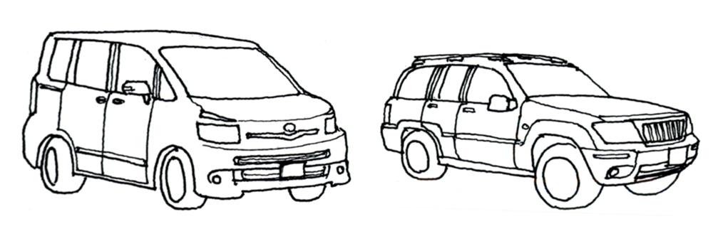 ステーションワゴンとSUV