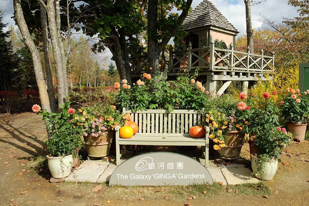 北海道「銀河庭園」の秋