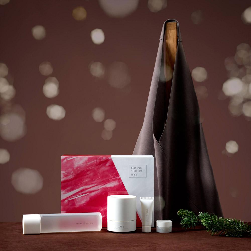 ベスコス多数受賞!大人気の化粧水とクレンジング2つの現品がイン オルビス「オルビス ブリスフル タイム キット」
