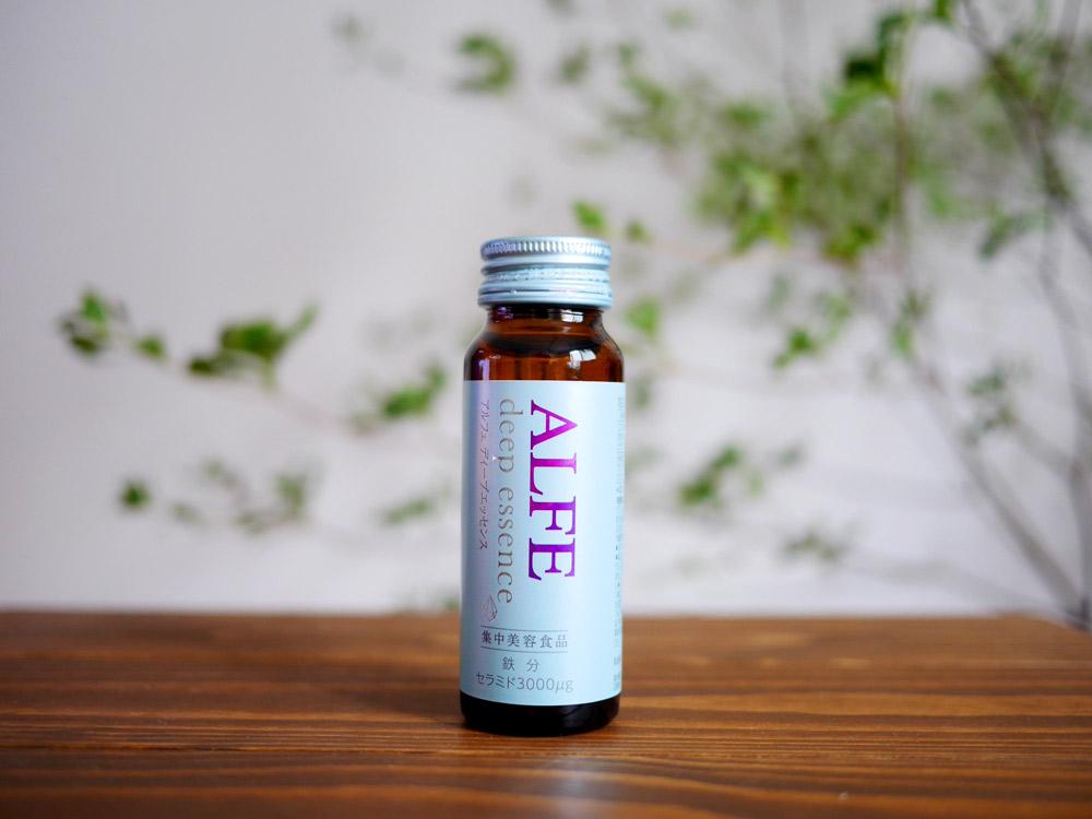 鉄分、セラミド、ヒアルロン酸など女性のキレイに欠かせない成分を1本に 大正製薬「アルフェ ディープエッセンス」