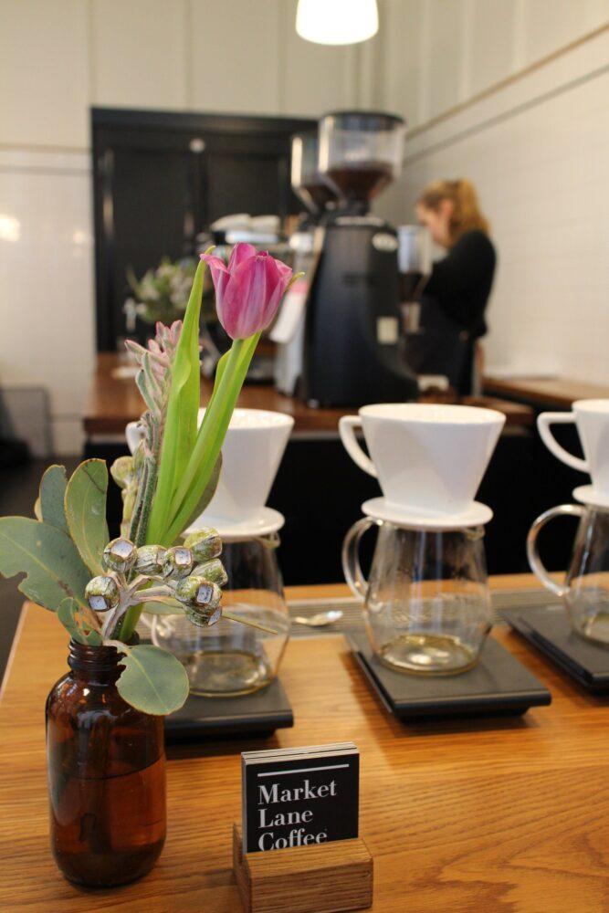 オーストラリアのカフェのアレンジ