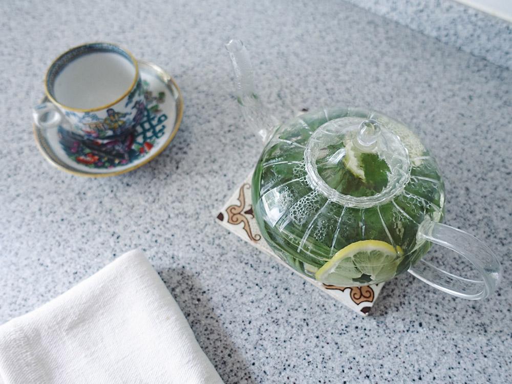 レモングラスのハーブティーの作り方