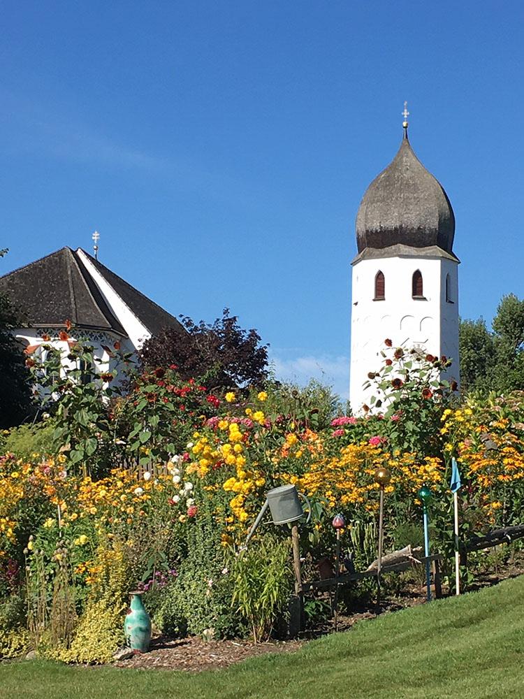 修道院のガーデン