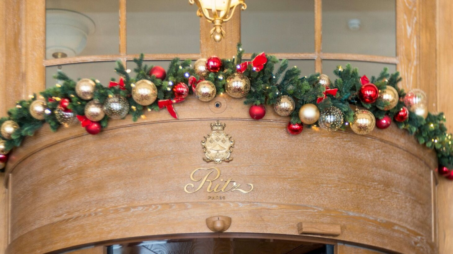 クリスマスのリッツパリ
