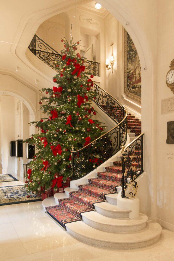 『リッツ パリ』のクリスマス