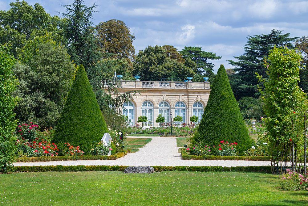 パリのバガテル公園