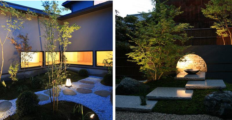 夜の和風庭園を彩る光〜和のライティングのコツとオススメの照明器具