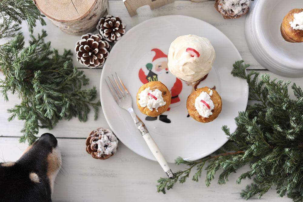 クリスマスのキャロットケーキ