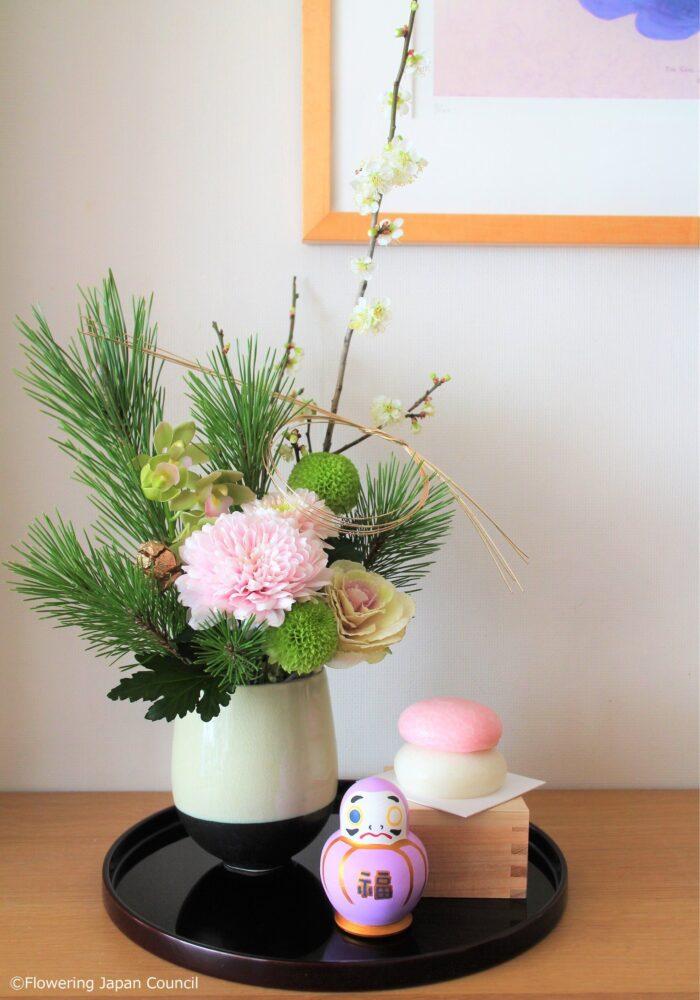 新年の迎え花
