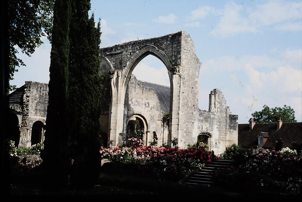 ロンサールが暮らした僧院の館