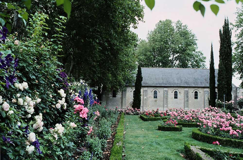 「アンドルーエ・デュ・セルソーの庭園」