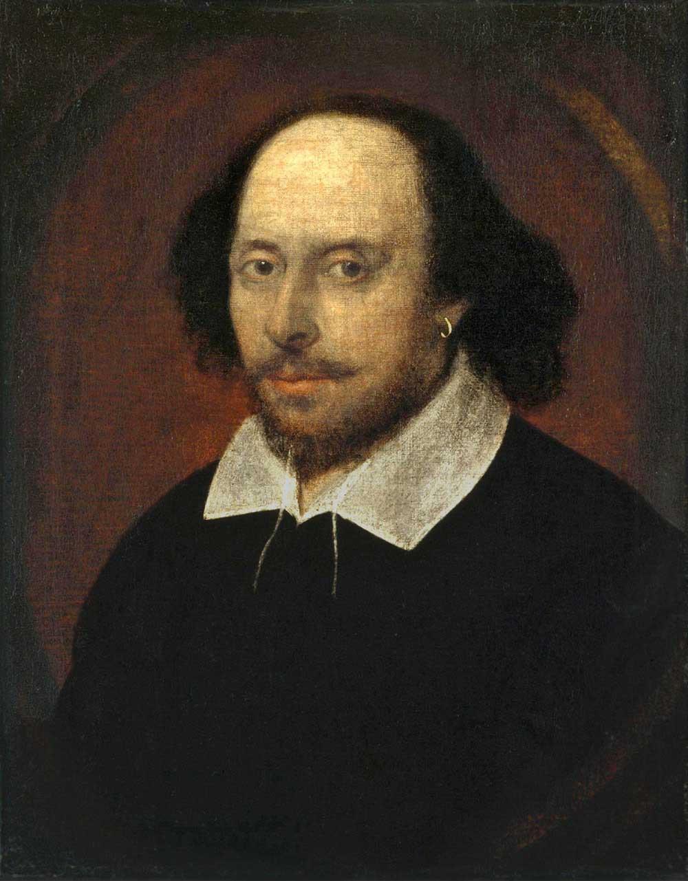 シェイクスピア肖像
