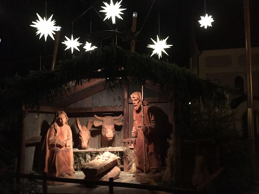 クリスマスのプレゼピオ