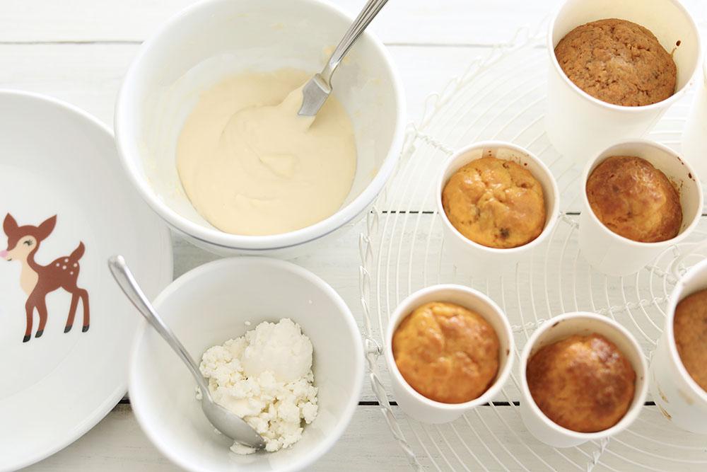キャロットケーキの作り方
