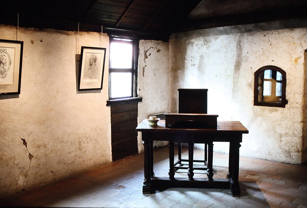 ロンサールの居室