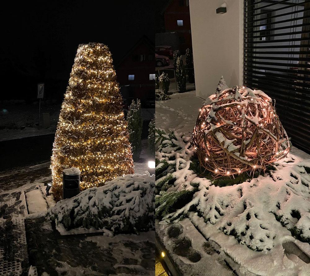 クリスマスのデコレーション