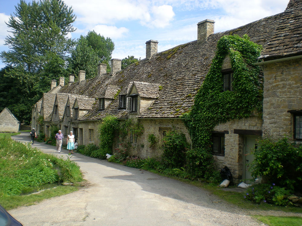 コッツウォルズの村、バイブリー