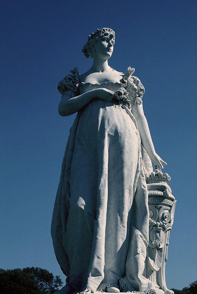 ボア・プレオ―城のジョゼフィーヌ像