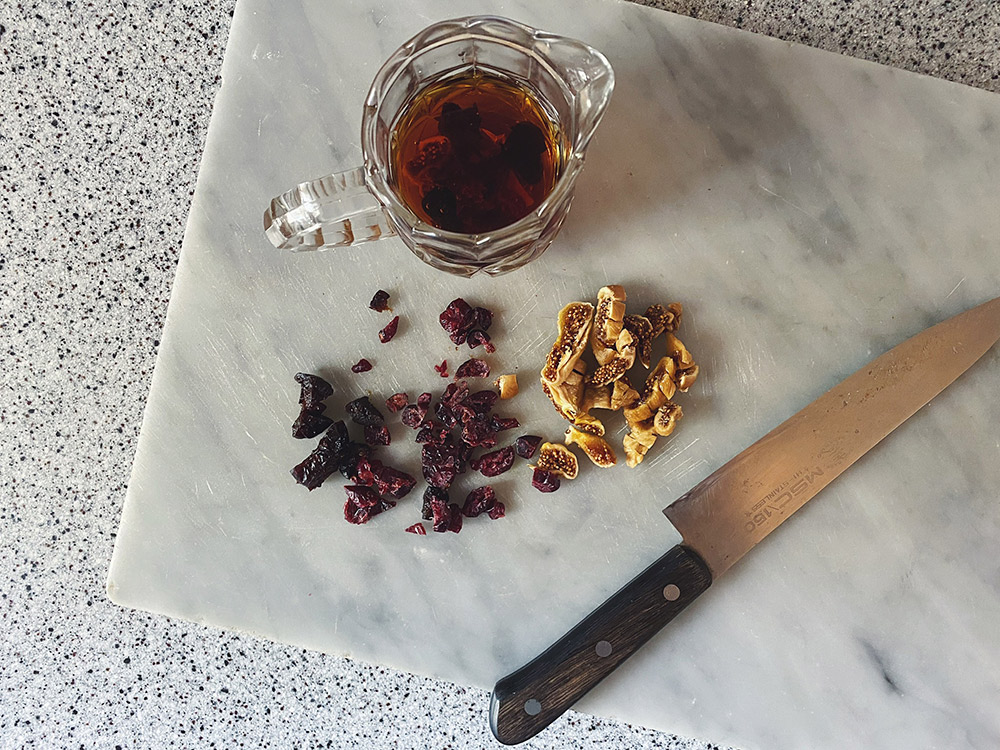 自家製「五香粉」で作るチャイニーズフルーツケーキの作り方