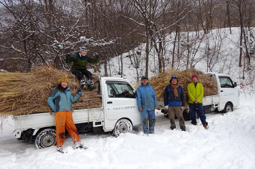 本格的な積雪の前にミッション完了