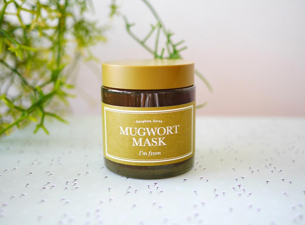 韓国では鎮静・浄化のハーブとして人気のマグワート(ヨモギ)がゆらぎ肌を立て直す アイムフロム「フェイスマスク(M)」