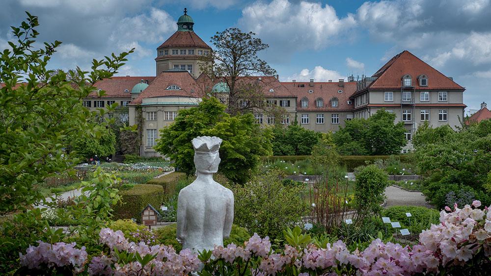 ミュンヘン・ニンフェンベルク植物園の庭