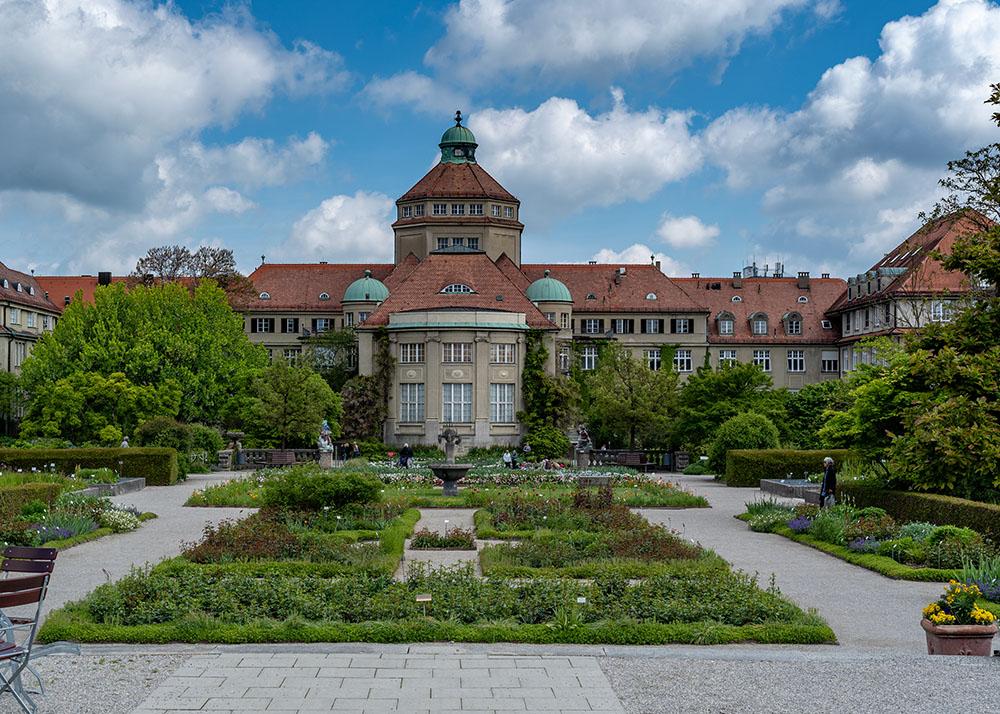 ミュンヘン・ニンフェンベルク植物園のガーデン