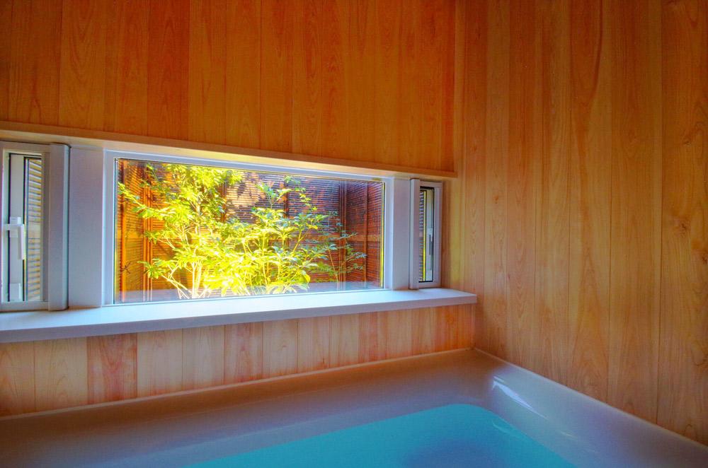 浴室からの眺め
