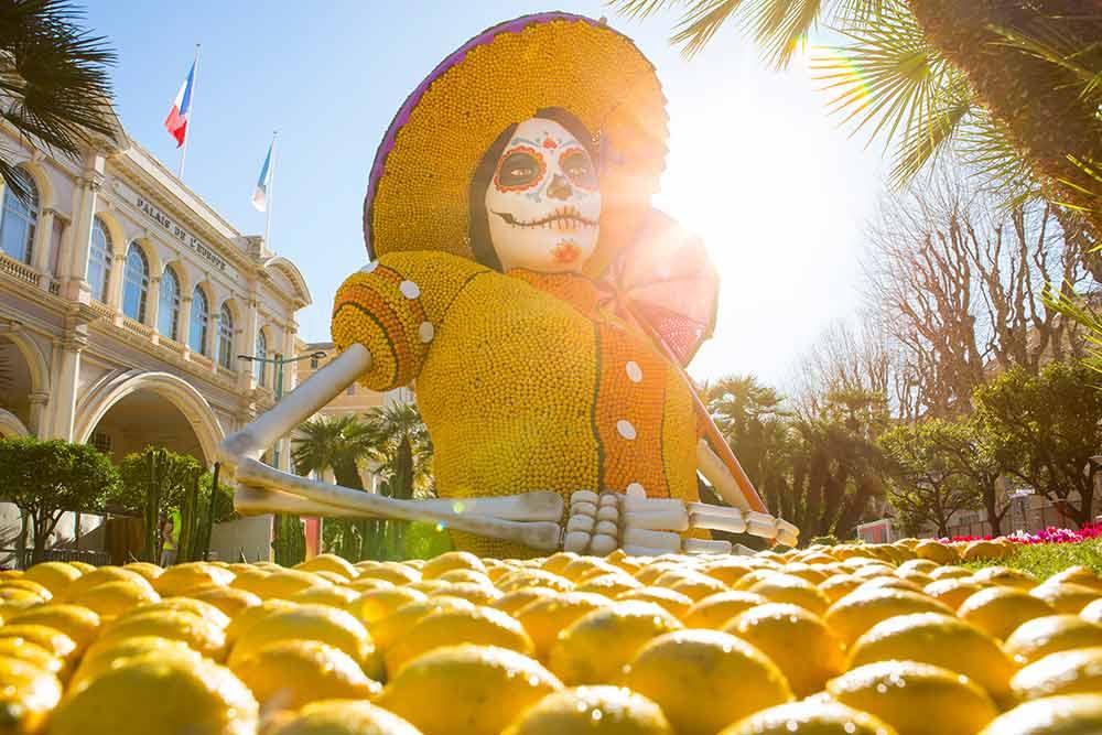 南仏マントンのレモン祭り