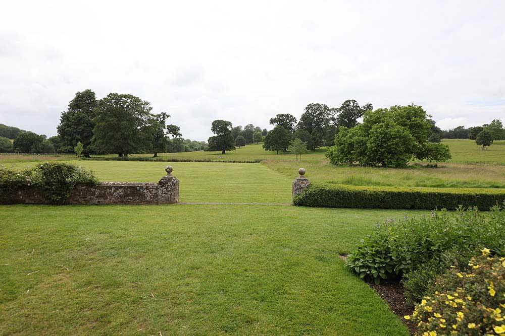 ブロートン・パークの草地