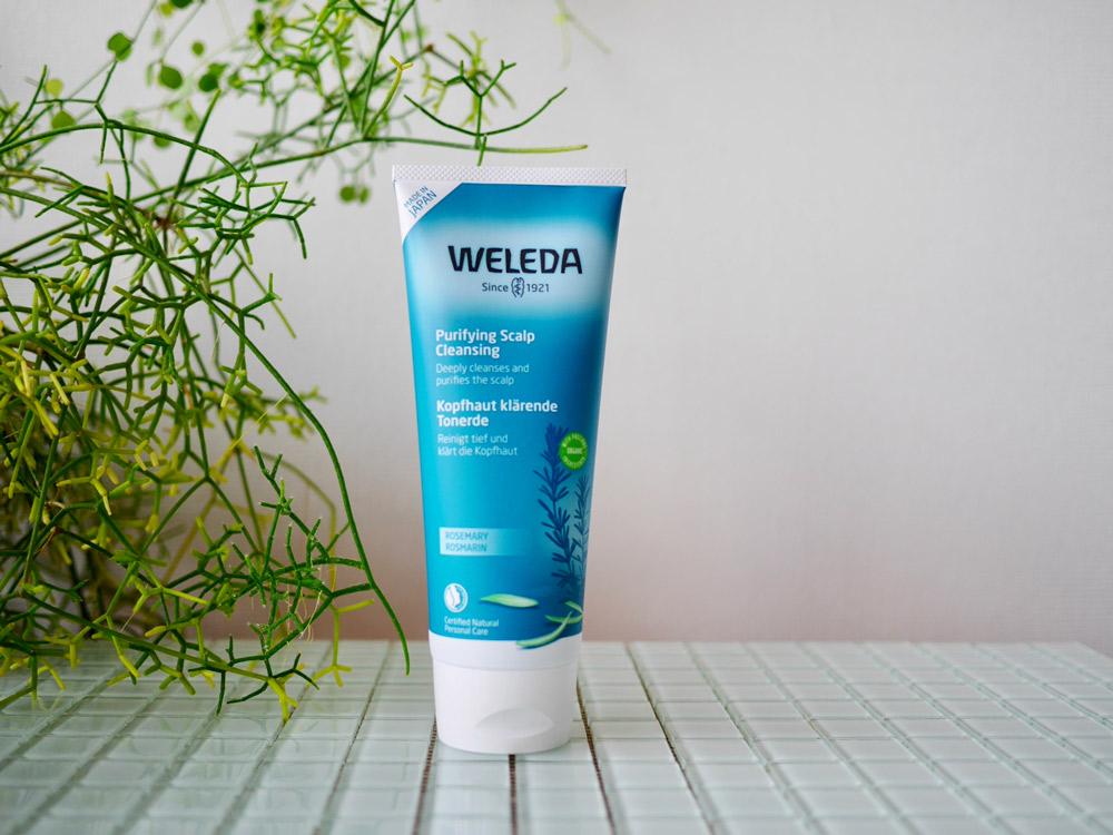 4種の植物エキスと天然クレイ、竹炭で頭皮をすっきり健やかに ヴェレダ「ローズマリースカルプクレンジング」