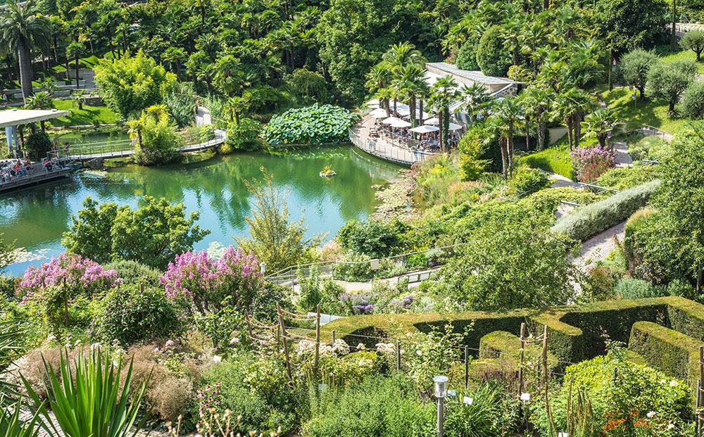 トラウトマンスドルフ城庭園