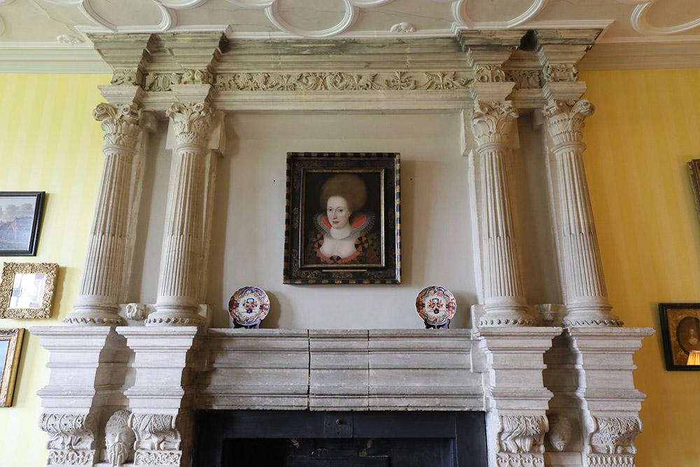 ブロートン・カースルのアン王妃の部屋