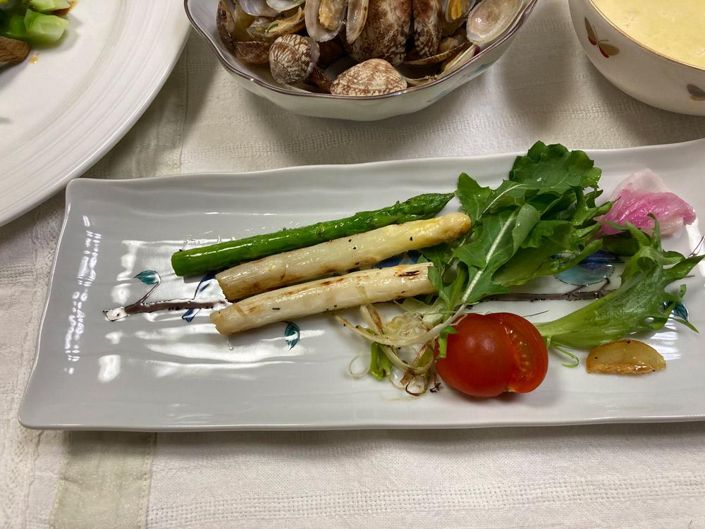 新鮮な野菜はやっぱり美味しい