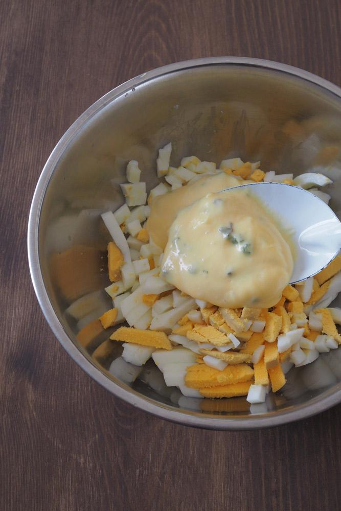 卵サンドの作り方