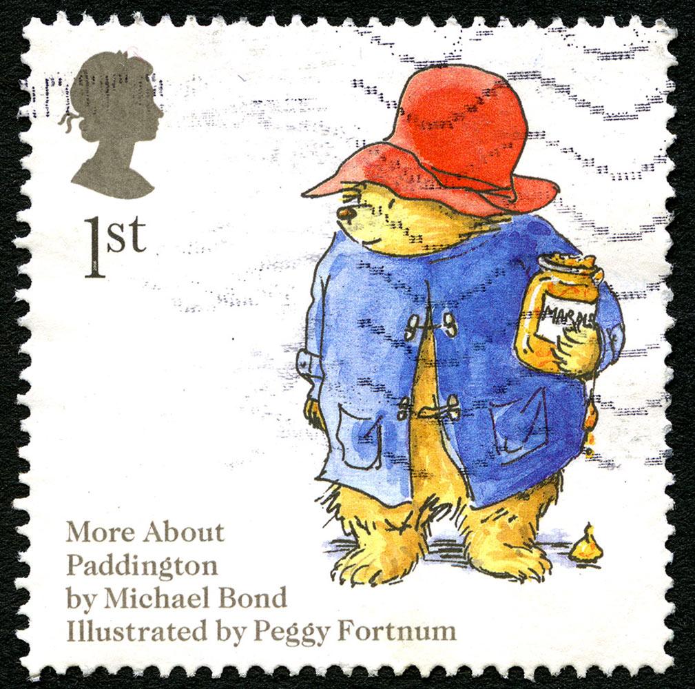パディントンの切手