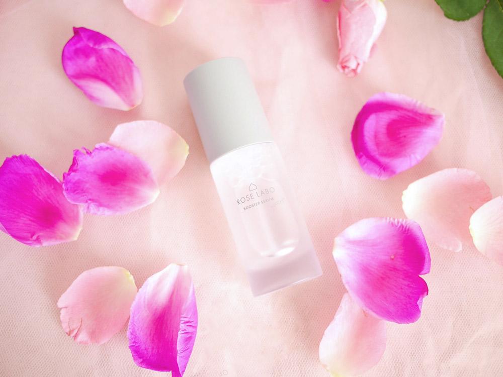 肌荒れやエイジングケアもこれ1本! 食べられるバラから作った導入美容液 ROSE LABO「ローズブースターセラム」