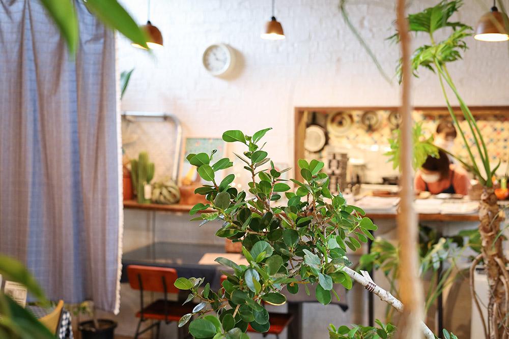 Soraniwa(そらにわ)のカフェ