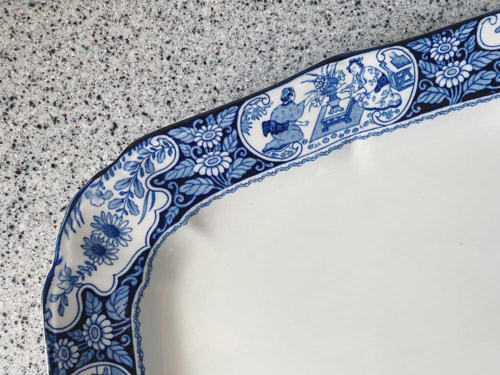 アンティークの皿