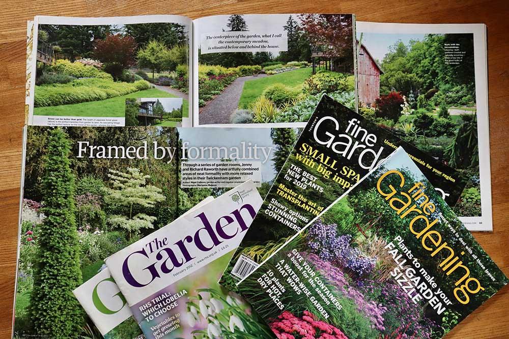 ガーデン雑誌