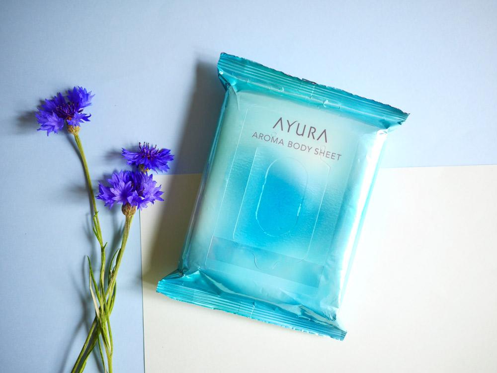 何度も深呼吸したくなるような清々しい香り アユーラ「アロマボディシート」