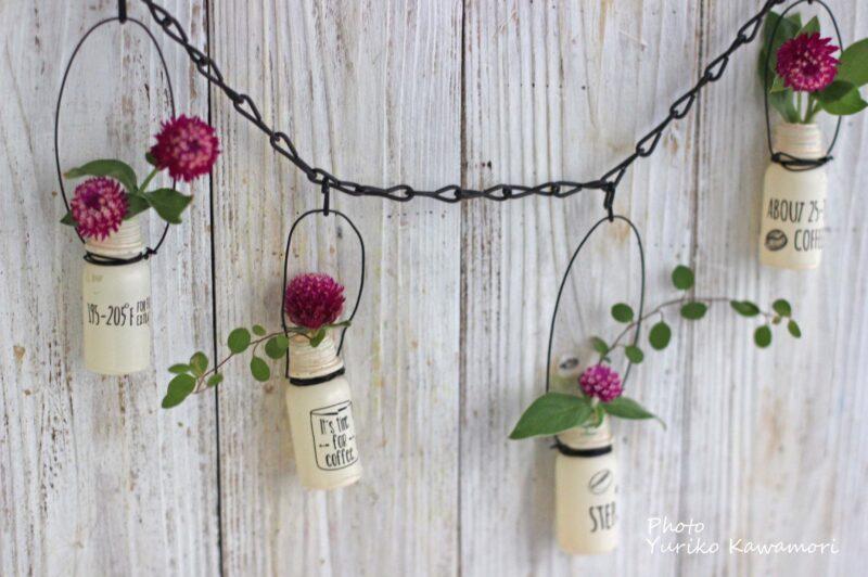 花の壁飾り