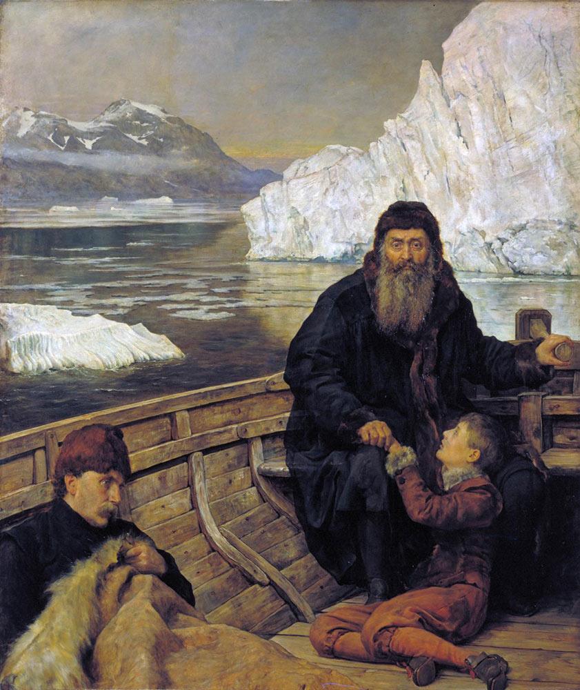 'ヘンリー・ハドソン、最後の航海'