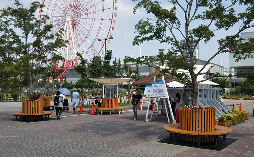東京2020大会会場周辺の、花と緑のおもてなし