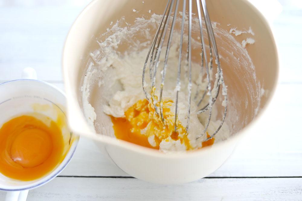 リコッタチーズケーキの作り方